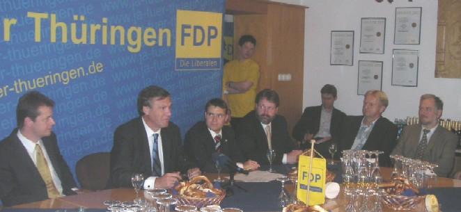 Wolfgang Gerhardt im Gespräch